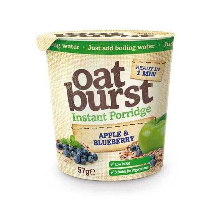 Oat Burst Instant Porridge Apple and Blueberry 57g
