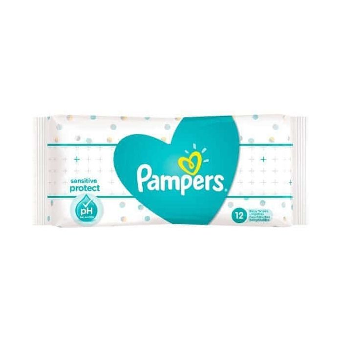Pampers Sensitive Baby Wipes 56s