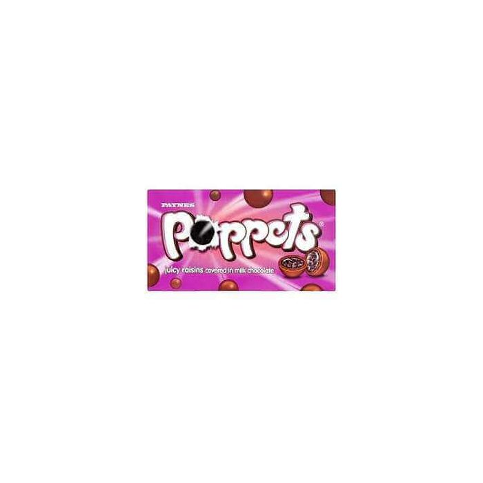 Paynes Poppets JUICY RAISINS 36g Box OOD 26 Jan 2016