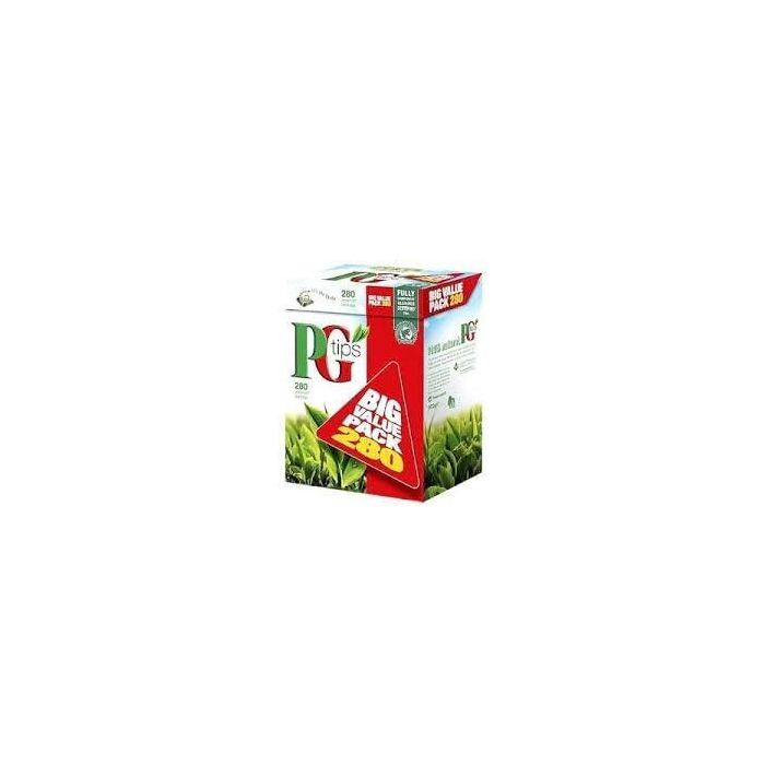 PG Tips Pyramid Tea Bags 280 per pack - 875g