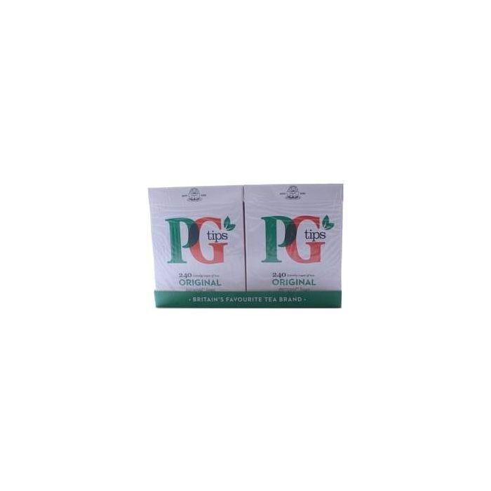 PG Tips Pyramid Tea Bags 240 per pack 750g x 4 Wholesale case
