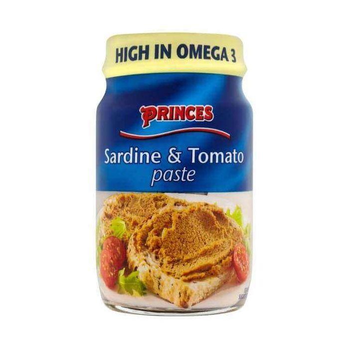 Princes Sardine & Tomato Paste 75g Single Jar