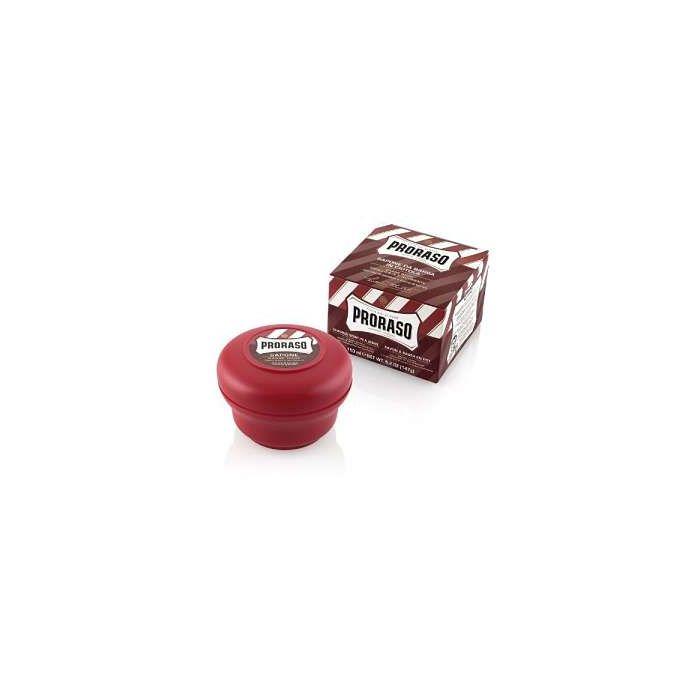 Proraso Red Range Sandalwood Oil and Shea Butter Shaving Cream Jar 150ml