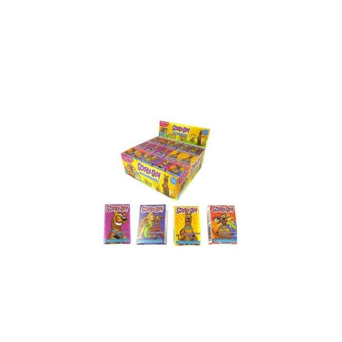 Scooby Doo Candy Sticks with Sticker boxes x 60 Wholesale Trade Case