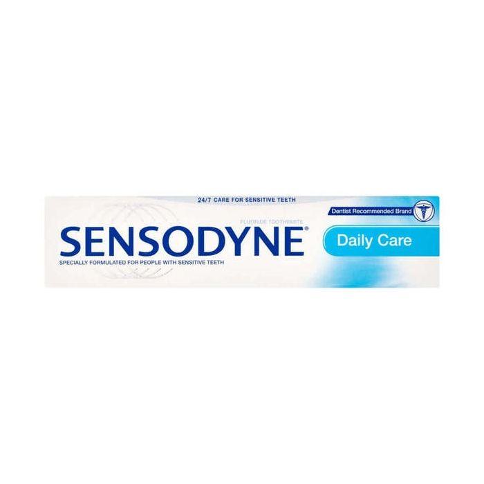 Sensodyne Daily Care 50ml fluoride toothpaste tube