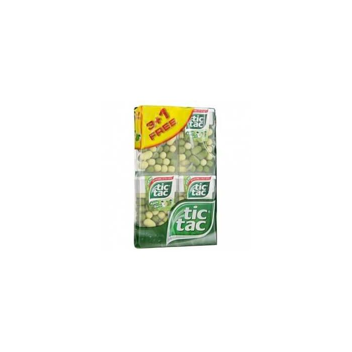 Tic Tac Apple Burst 18g x 4 pack x 10 Out of Date 8 Sept 2015