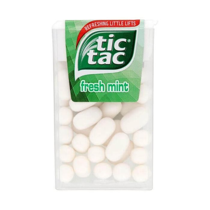 Tic Tac Fresh Mint 18g Single