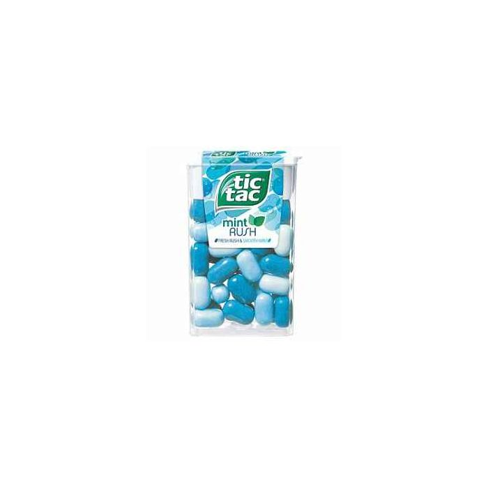 Tic Tac Mint Rush 18g Single Out of Date