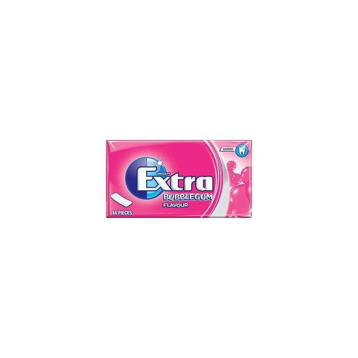 Wrigley's Extra Sugar Free BUBBLEGUM Flavour 27g Chewing Gum