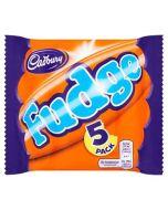 Cadbury Fudge 5 MultiPack 127.5g Out of Date 3 Jun 2015