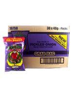 Mega Monster Munch PICKLED ONION 48g x 30 Wholesale Case