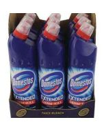 Domestos Extended Germ-Kill ORIGINAL Bleach 750ml x 9 Wholesale Case