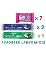 Fry's Chocolate Assorted LARGE MIX 25