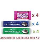 Fry's Chocolate Assorted MEDIUM MIX 12