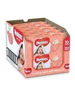 Huggies Soft Skin Baby Wipes 56s x 10 Wholesale Pack