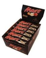 Mars Bars 2 Pack 69g x 24 Out of Date 10 April 2016 Wholesale Trade Case