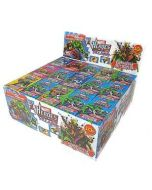 Marvel Heros vs Villains Candy Sticks x 60 Wholesale Trade Case