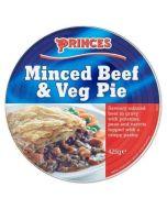 Princes Minced Beef and Veg Pie 425g x 6 Wholesale Case