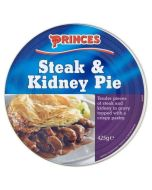 Princes Steak and Kidney Pie 425g x 6 Wholesale Case