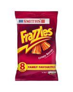 Smiths Frazzles Crispy Bacon Snacks 8 x 18g Multi Pack