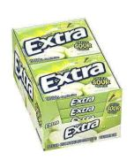 Wrigleys Extra Sour Green Apple 15stk - 40.5G x 10 Out of Date 13 Mar 2016